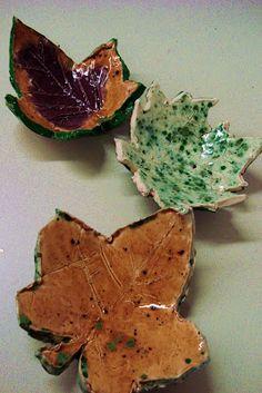 leaf bowls, 1st grade