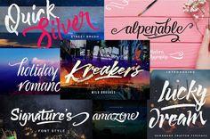 7 Fabulous Handmade Fonts - only $9! http://pic.twitter.com/nKhZTvB55I   Game Designer World (@LoveDesignGame) September 15 2017