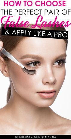 Best False Eyelashes: When to Throw Them Away & How to Apply Like a Pro - Makeup Tips Best Fake Eyelashes, Artificial Eyelashes, Applying False Eyelashes, Beautiful Eyelashes, Longer Eyelashes, Long Lashes, Makeup Mistakes, Eyebrow Tutorial, Evening Makeup