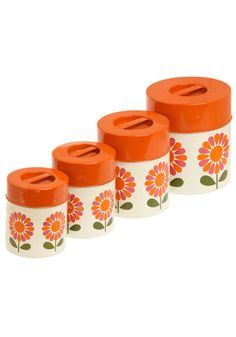 Vintage Canister Set, the set I found is like this but with roosters