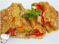 Bacon Pasta, Spinach Pasta, Spanakopita, Lasagna, Garlic, Chicken, Cooking, Ethnic Recipes, Savoury Pies