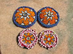 Tribal Kuchi Costuming Supplies Set of Four Patches(Etsy のForgottenPastより) https://www.etsy.com/jp/listing/538229192/tribal-kuchi-costuming-supplies-set-of