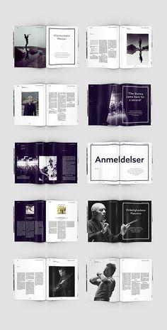 Classic Magazine - Redesign by Christoffer Kildahl, via Behance