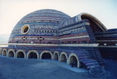 Museum Rumi Dome Exterior with Entry Vault