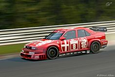 Alfa Romeo 155 DTM by YackNonch, via Flickr