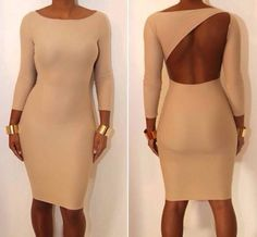 I'd rock this dress - as long as I had the proper undergarments.