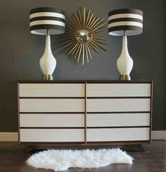 Mid-century modern dresser gets a new look :: Hometalk
