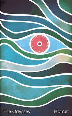 The Odysseey book cover design