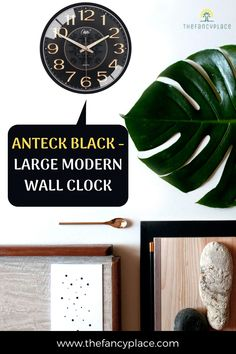 Within the purest industrial form, Anteck a good-looking large modern wall clock which will be markedly right for your salon. Made of highly qualitative acrylic, admire Anteck in your salon. How to decor a wall, DIY Decorating ideas, DIY home decor, Clock ideas, Wall clocks, Wall decoration ideas, Interior design inspiration, Living room decor, Cozy room decor, Bedroom decoration ideas, Wall clocks for home decor! #wallclock #decor #diydecor #walldecoration Living Room Decor, Bedroom Decor, Wall Decor, Oversized Clocks, Interior Decorating, Diy Decorating, Cozy Room, Wooden Walls, Retro Design