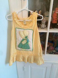 Vintage Holly Hobbie Dress 3T by lishyloo on Etsy