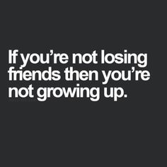 Morning BAbes! To keep on the topic of finding your tribe, we also want to talk about losing friends. It happens. It is perfectly normal and okay to grow apart from people, especially the toxic ones! If there is one thing we have learned, it's that you don't have to stay friends with someone just because you've been friends for a long time. Surround yourself with people who make you better and be a good friend in return. Check out the blog to read more about building strong friendships.