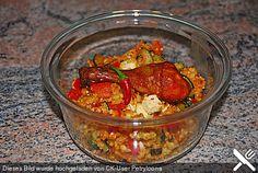 Bulgur - Gemüse - Pfanne, ein leckeres Rezept aus der Kategorie Gemüse. Bewertungen: 94. Durchschnitt: Ø 4,4.