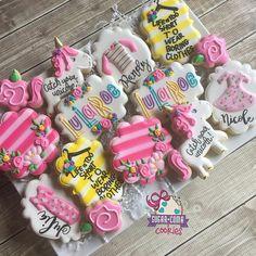 Lula roe cookies for @lularoekelseybwilliams launch popup! #lularoe…
