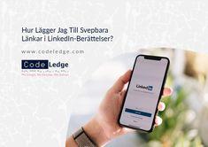 LinkedIn Stories får möjlighet att länka till andra webbplatser via den välbekanta svepningsfunktionen. #LinkedIn #LinkedInMarknadsföring #marknadsföringsstrategi #digitalmarknadsföring #socialamedier #marknadsföringavsocialamedier #marknadsföringiSverige #marknadsföringstips #CodeLedge #vaxjo #växjö #växjökommun #vaxjokommun #vaxjocity #växjöcity #sweden Social Media Marketing, Digital Marketing, Coding, Ads, Link, Sweden, Programming