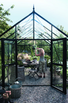 "Acquire great tips on ""greenhouse ideas buildings"". They are actually available for you on our web site. Backyard Greenhouse, Greenhouse Plans, Backyard Projects, Garden Cottage, Glass House, Dream Garden, Garden Inspiration, The Great Outdoors, Outdoor Gardens"