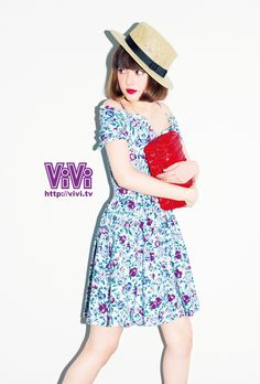 ViVi2014年9月号スマホ壁紙(玉城ティナ)