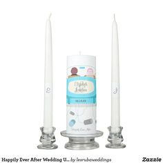 Happily Ever After Wedding Unity Candles Wedding Unity Candles, Taper Candles, Wedding Ceremony, Wedding Day, Christmas Card Holders, Happily Ever After, Keep It Cleaner, Great Gifts, Pi Day Wedding