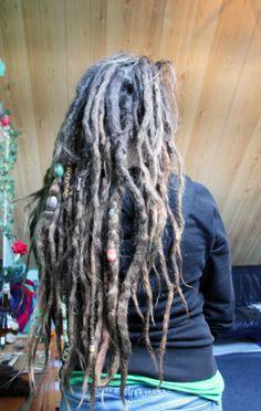 Afbeelding Dreadlock Hairstyles, Twist Hairstyles, Cool Hairstyles, Black Hairstyles, Wedding Hairstyles, Natural Dreads, Natural Hair Updo, Natural Hair Styles, White Girl Dreads