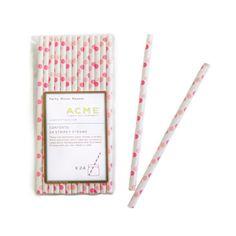 Pink Dots Party Straws (Set of 24) – Hi Sweetheart