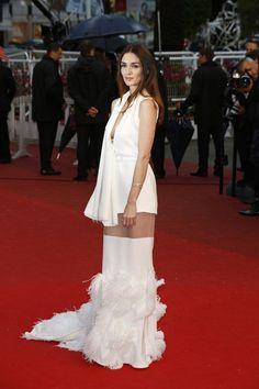 Paz Vega Evening Dress Stephane Rolland