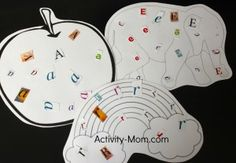 ALPHABET CRAFTS - Collection of ideas to use with free, printable A-Z pictures