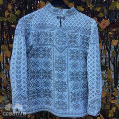H♥BBYSYSLER: Peace genser fra Dale (Søster'n strikker!)