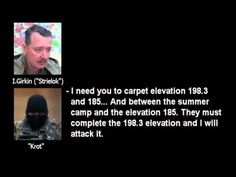 evidence of Russian military engagement  on the insurgents' side against...