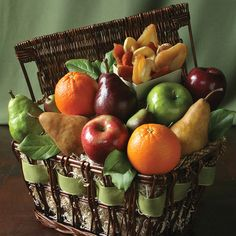 SIMPLY ORGANIC FRUIT It's simply the best organic fruit basket you can give a friend who cares about his or her health and the environment – top of the season fruit, organic, elegantly arranged in a sturdy hand woven wicker hamper. For birthdays, anniversaries, thank yous, or anything else, this is a gift that's quite simply…perfect.$69.95