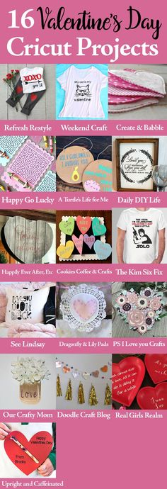 16 Valentines Day Cricut Projects
