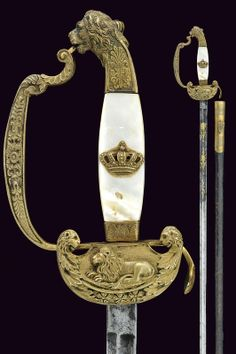 A staff officer's sword                                                     category:     Military Swords & Sabres                     provenance:     Bavaria                    dating:       19th Century