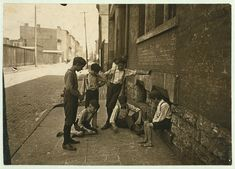Game of Craps. Cincinnati, Ohio. Aug., 1908. Location: Cincinnati, Ohio / Photo by Lewis W. Hine.   Library of Congress