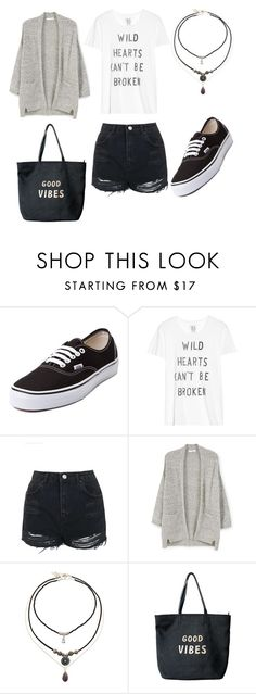 """""""Untitled #239"""" by ines-louu ❤ liked on Polyvore featuring Vans, Zoe Karssen, Topshop, MANGO and Venus"""