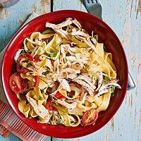 Thai Chicken Noodles (Rachael Ray) Made this with a few modifications. Kids LOVED it! And it was fast! --Amy