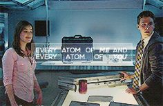 Every atom of me and every atom of you || Jemma Simmons, Leo Fitz || AOS 1x01 The Pilot || 245px × 160px || #animated #lyrics #fanedit