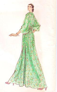 Vintage 1970s Vogue Designer Original Sewing by CloesCloset