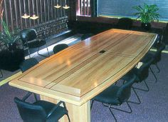Handcrafted Conference Room Furniture by Specialty Woods Neal Burns 509-466-4684