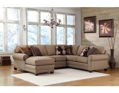 393-53 Sectional by Smith Brothers | Kloss Furniture & Mattress 1st