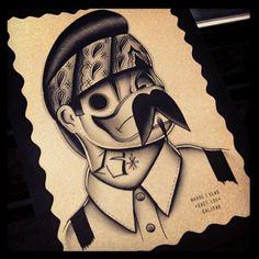 Cholo Tattoo, Chicano Art Tattoos, Chicano Drawings, Cartoon Drawings, My Drawings, Gangster Drawings, Arte Cholo, Cholo Art, Graffiti Doodles