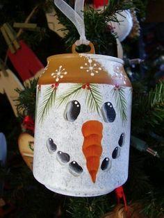 Soda can ornament