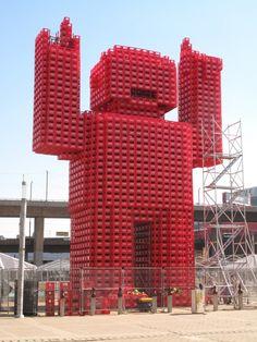 coke crate man, Johannesburg