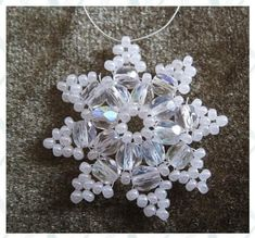 estrella -  pdf for this little component. #seed #bead #tutorial: