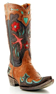 Sweetheart of the RODEO cowgirl boot by old gringo {junk gypsy co}
