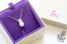 Fei Liu Fine Jewellery snowdrop pendant