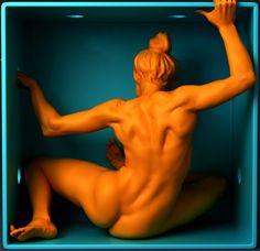 Girl in Box w/ Timelapse, Djordje Nagulov on ArtStation at https://www.artstation.com/artwork/EOgXn