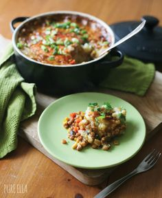Lentil Shepherd's Pie : healthy, vegan and gluten-free | Pure Ella sub coconut aminos for soy sauce