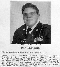 Actor Sgt Dan Blocker Us Army Served 1950 1952 Short Bio