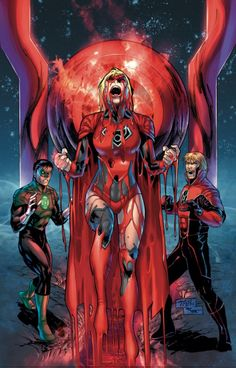 dccomicsnews: Red Lantern Supergirl to Debut in February FlipbookIn a recent interview with Comic Book Resources, Green Lantern scribe Robert Venditti and Red…View Post