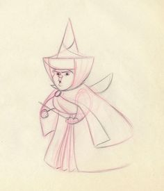 Only if there's room/time   Sleeping Beauty (1959)  good fairy Merryweather