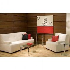 Beautiful mid century modern sofa and chair