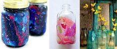 Cómo pintar frascos de vidrio